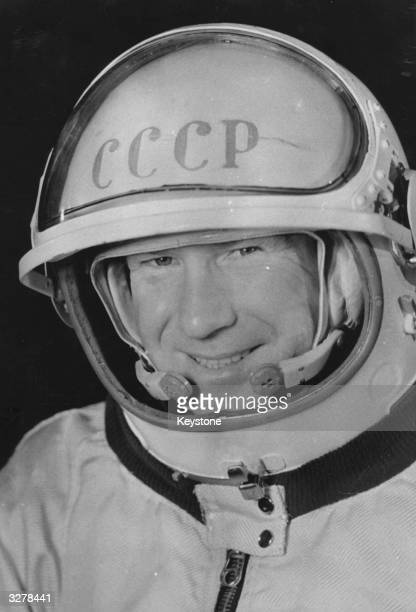 Alexei Arkhipovich Leonov Russian astronaut the first man to walk in Space from Voshkod 2
