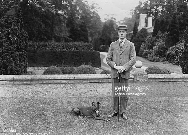 Albert Edward John Spencer 7th Earl Spencer on his 21st birthday at Althorp Park Northamptonshire as Lord Althorp