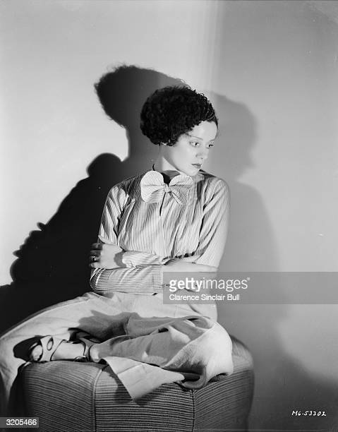 Britishborn actress Elsa Lanchester who played the female creation in 'Bride of Frankenstein'