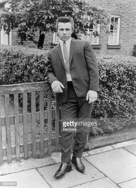 James Brunton a 17 year old Teddy Boy who was fined 75 after rioting with other 'Mods' and 'Rockers' at Margate