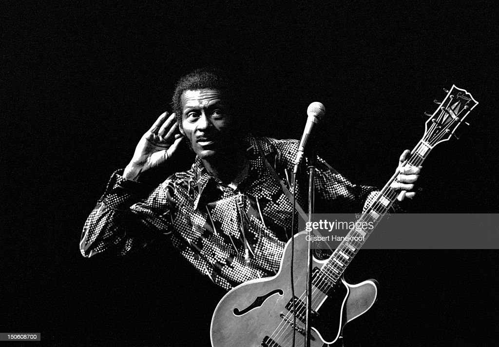 Chuck Berry Live in Amsterdam : News Photo