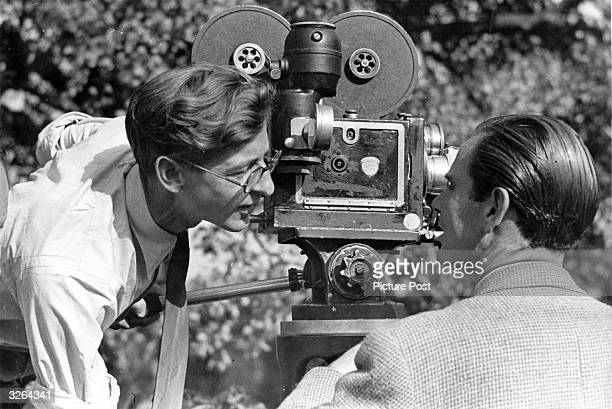 John and Roy Boulting , film producers and directors in England, responsible for a multitude of English comedy films. Original Publication: Picture...