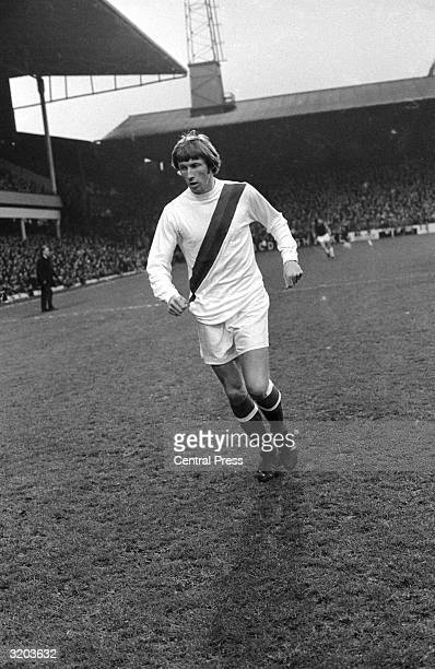 Manchester City and England inside forward Colin Bell