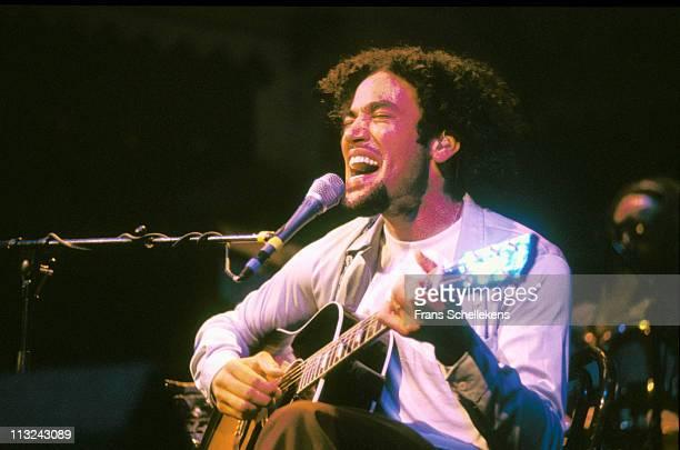 23rd NOVEMBER: Singer/songwriter Ben Harper performs live on stage at Paradiso in Amsterdam, Netherlands on 23d November 1997.