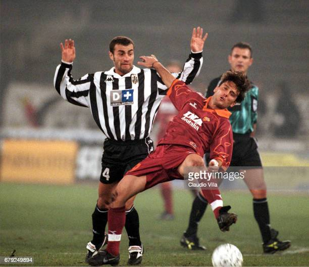 A 23rd round JUVENTUS Vs ROMA 21 VINCENZO MONTELLA of AS Roma and PAOLO MONTERO compete for the ball