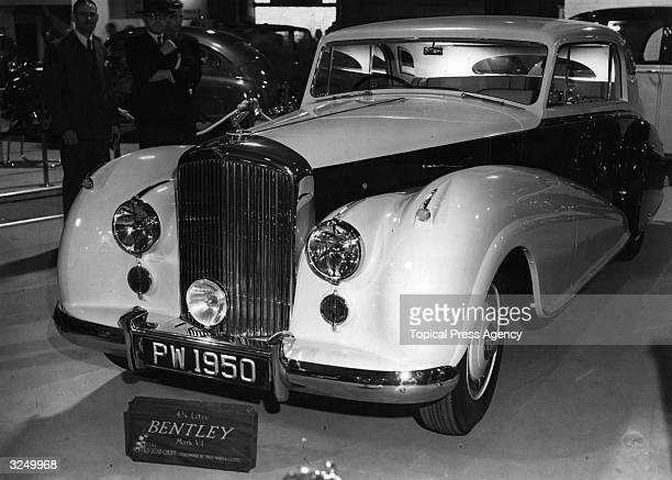 The 4 1/2 Litre Mark VI Fixed Head Coupe Bentley