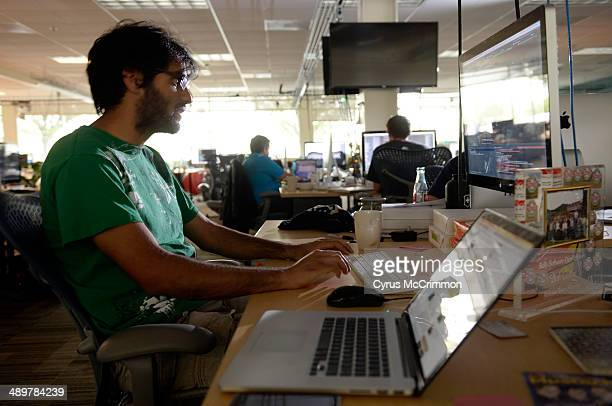 23yearold Omar Sulehria works at his desk at Rally Software Development in Boulder Sulehria's job reflects the growth of jobs for the Millennial...