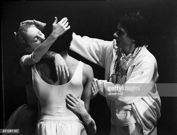 *Tänzer Choreograph USAbei Proben an der Deutschen Staatsoperin BerlinDDR 1987