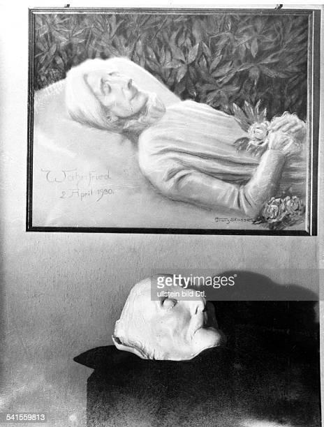 *24121837Tochter von Franz Liszt 2Ehefrau von Richard Wagner Totenmaske und Bildnis auf dem Totenbettundatiert