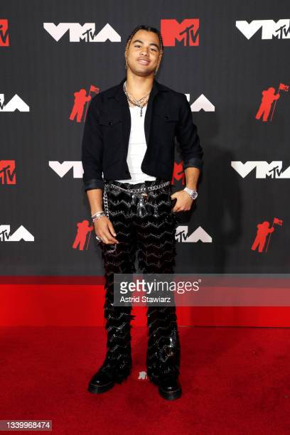 24kGoldn attends the 2021 MTV Video Music Awards at Barclays Center on September 12, 2021 in the Brooklyn borough of New York City.