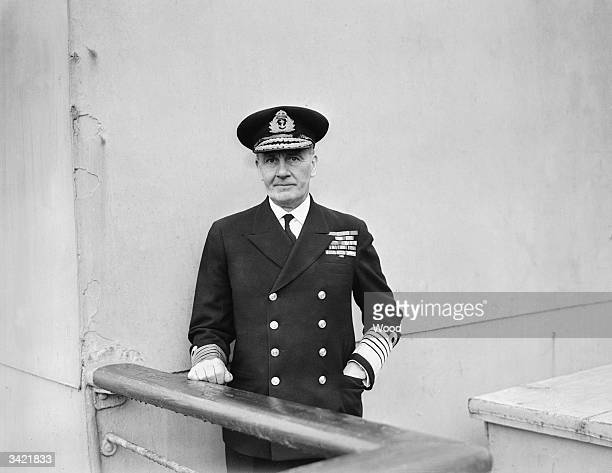 Admiral James Somerville who destroyed the Vichy French fleet at anchor in Algeria in 1940