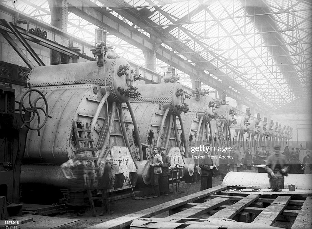 Boiler Shop Pictures | Getty Images