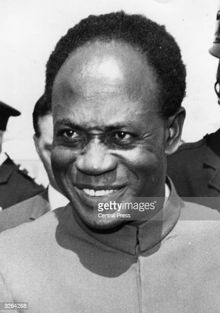Ghanaian politician Kwame Nkrumah at the time his regime was overthrown by a military coup while he was in China He afterwards returned to Ghana...