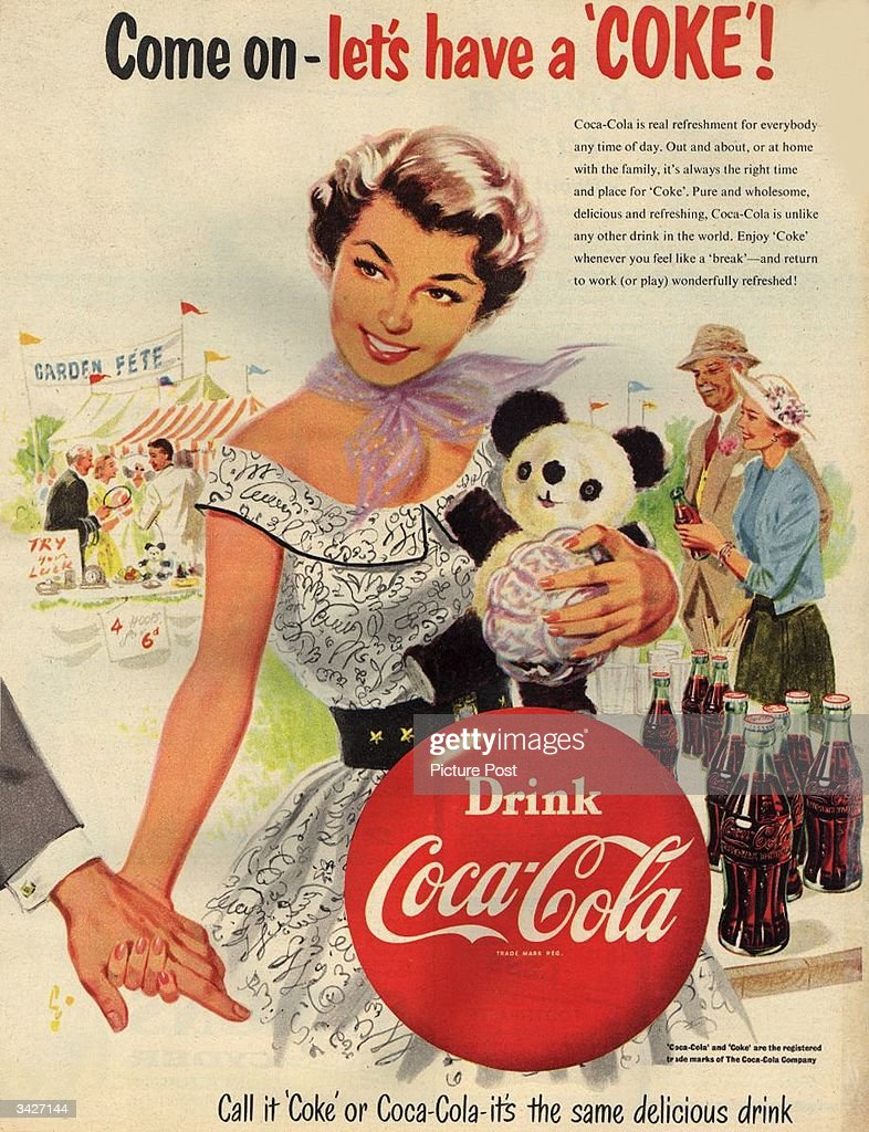 Let's Have A Coke : News Photo