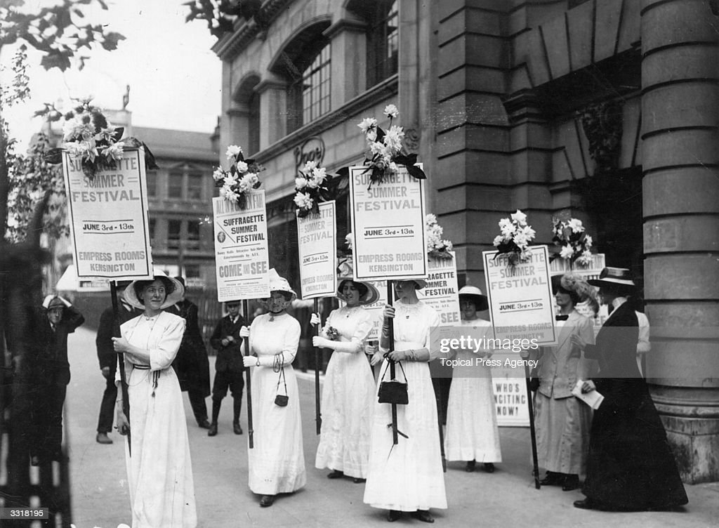 Suffrage Meeting : News Photo