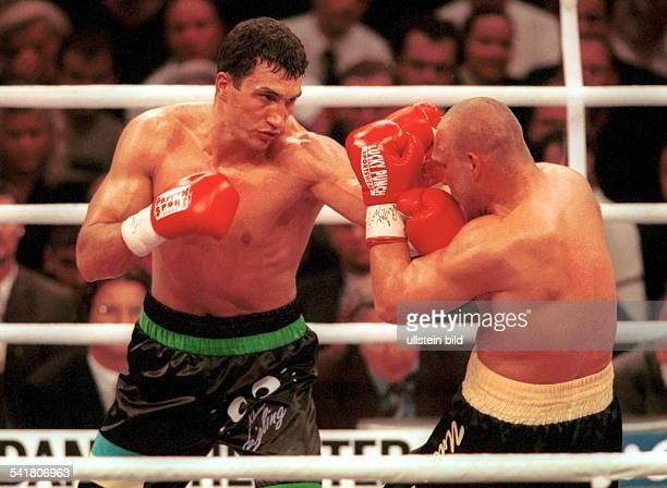 Sportler Boxen Ukraine EMKampf in Köln gegen Axel Schulz trifft Schulz im Gesicht Klitschkogewinnt durch ko in der 8 Runde