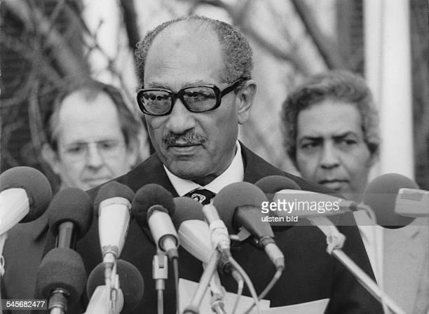 *Politiker ÄgyptenStaatspräsident 197081während eines Besuchs in Hamburg 1978