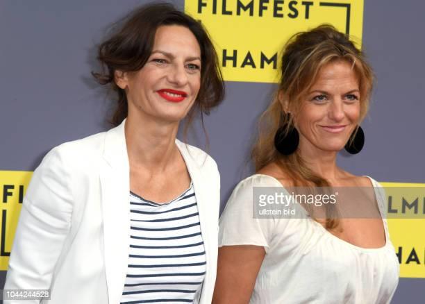 25Geburtstag Eröffnung FILMFEST HAMBUR am im CinemaxX Dammtor Catrin Striebeck und Schwester Janna Striebeck