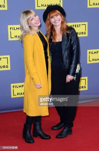 25Geburtstag Eröffnung FILMFEST HAMBUR am im CinemaxX Dammtor Kamerafrau Monika Plura and Regisseurin Martina Plura