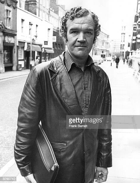 George Francis , the manager of the light heavyweight boxer, John Conteh.