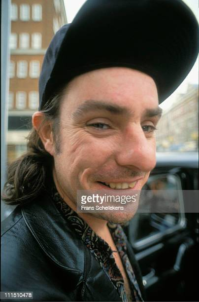 Portrait of Lester Butler, singer with the blues band, The Red Devils in London on 25th April 1993.