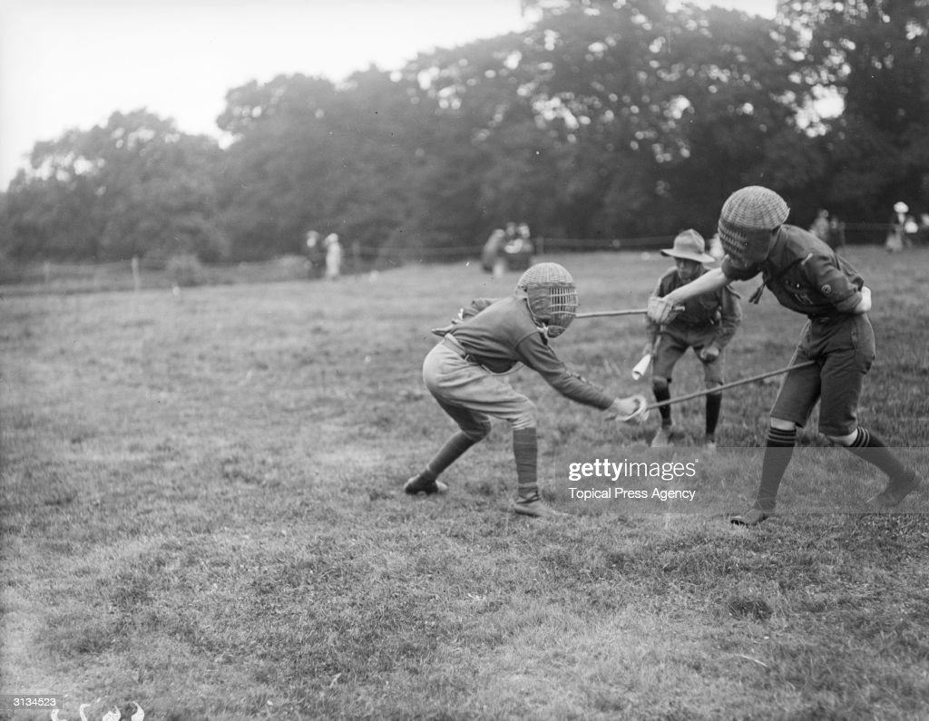 single stick bout pictures getty images