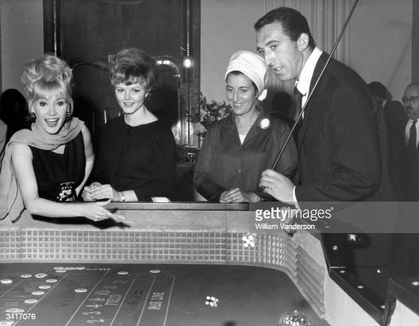 Gamblers at the Golden Nugget Casino Club in London's Shaftesbury Avenue on its opening night.