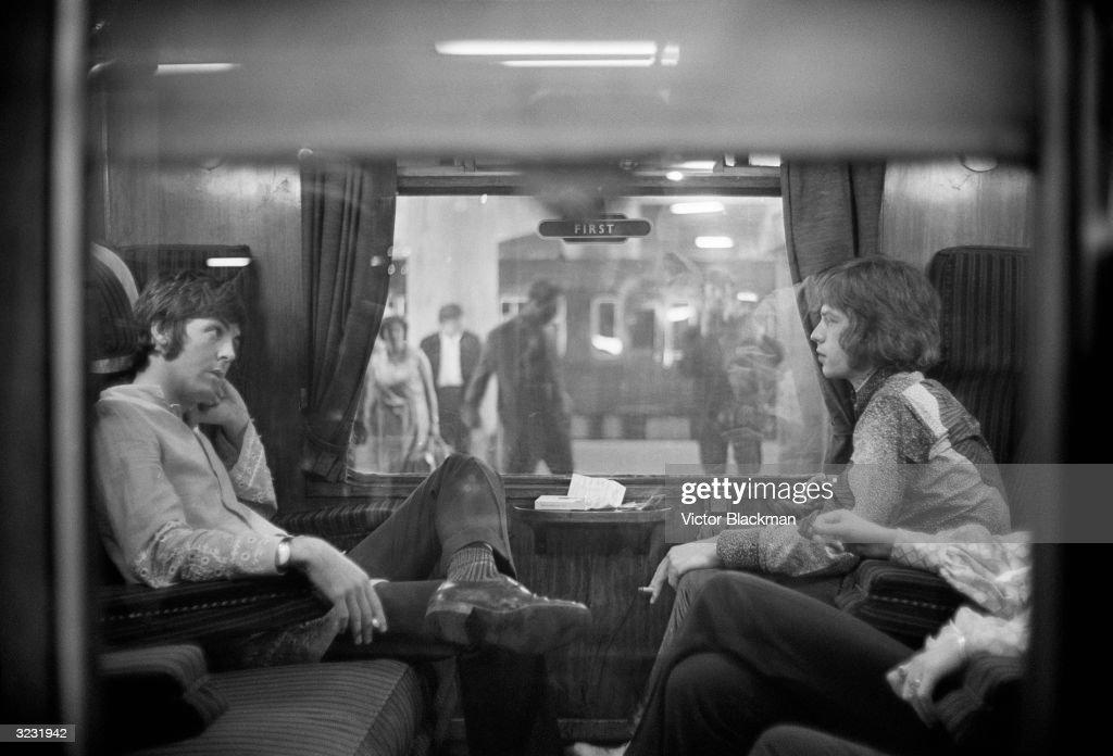 First Class Travel : News Photo