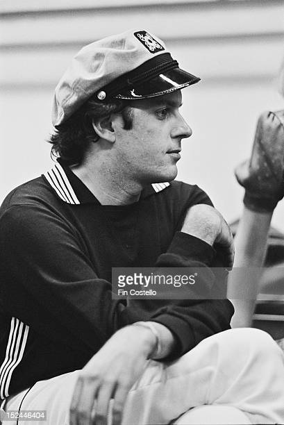 25th AUGUST: 'Captain' Daryl Dragon from American pop act Captain & Tennille posed in New Haven, Connecticut on 25th August 1975.