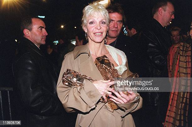 25Th Cesar Awards Dinner At The Fouquet'S In Paris France On February 19 2000Tonie Marshall