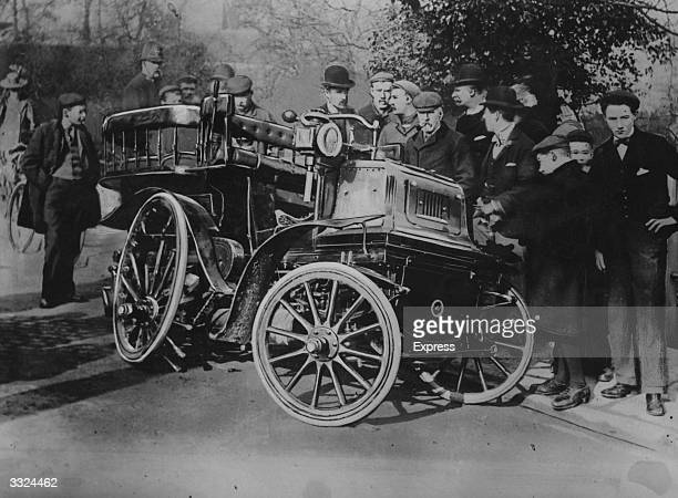 The first car in Britain to have a fatal accident killing driver and passenger