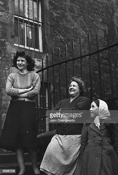 A group of women from the Central Division of Edinburgh whose votes are being canvassed in the General Election There is evidence of Iron Age...