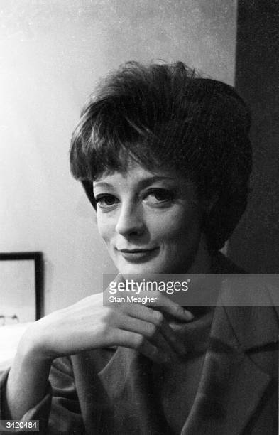 British stage and film actress Maggie Smith