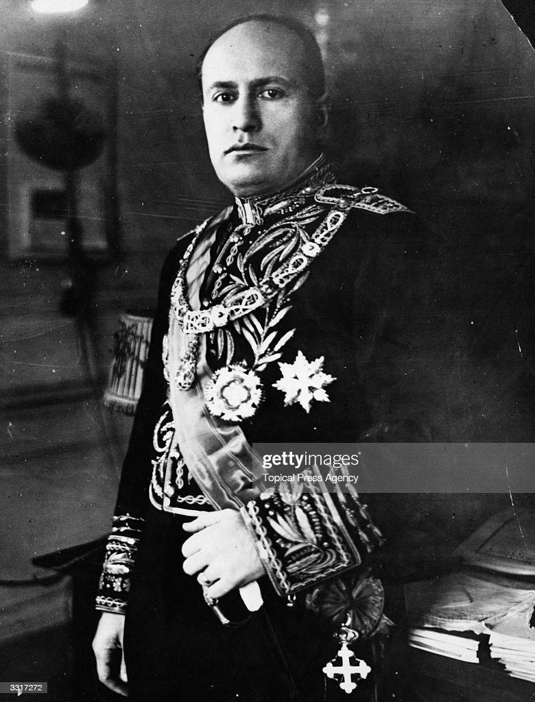 Benito Mussolini : News Photo
