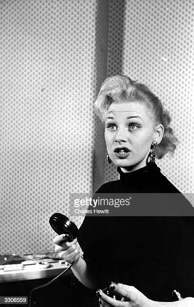 English actress Sabrina originally Norma Sykes Original Publication Picture Post 8276 Sabrina A Cult Takes To Culture pub 1956