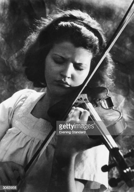 German violinist AnneSophie Mutter