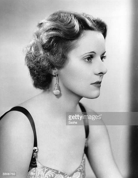 American actress Ann Todd child star of the 30's and 40's who is currently appearing in 'When Ladies Meet' at the Lyric Theatre
