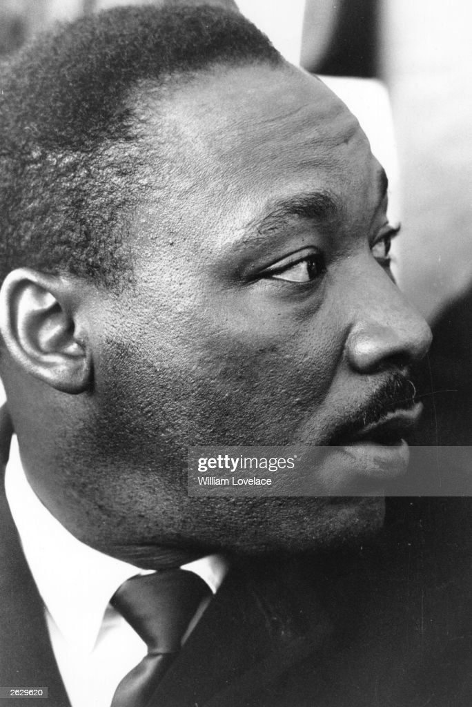 American Civil Rights leader Martin Luther King Jnr (1929 - 1968).