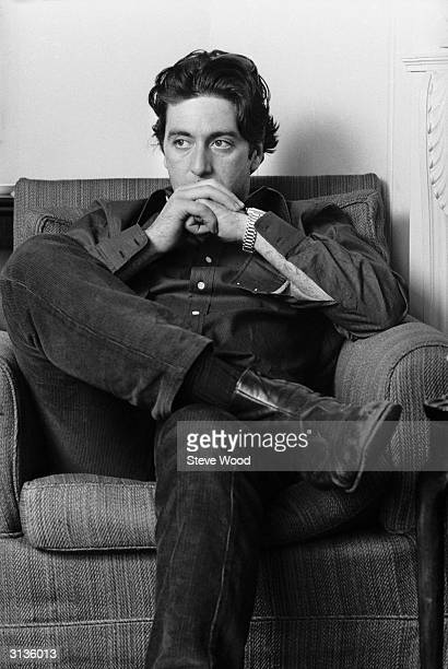 American actor Al Pacino in London After making his name in The Godfather and Serpico he was finally awarded an Best Actor Oscar for his role in...