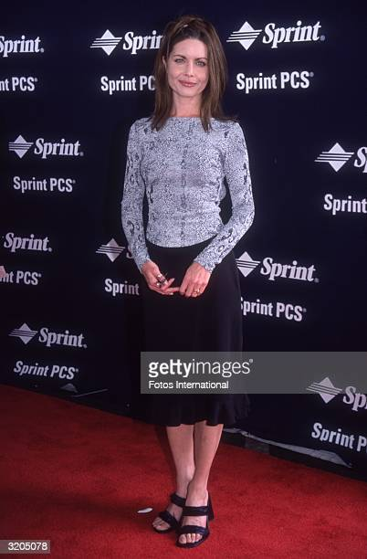 Fulllength image of American actor Mitzi Kapture attending the Independent Feature Project/West Independent Spirit Awards in Santa Monica California...
