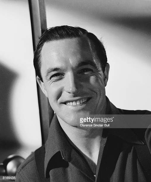 Film star Gene Kelly famous for his dancing.