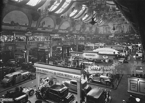 A general view of the International Motor Show held at Olympia London