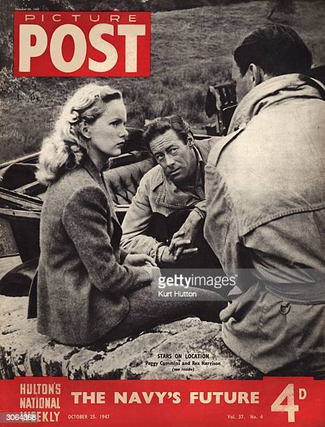 Peggy Cummins and Rex Harrison visit the Dartmoor countryside to film 20th Century Fox's 'Escape' directed by Joseph L Mankiewicz The headline...