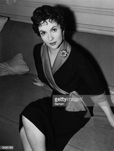 Italian film actress Gina Lollobrigida