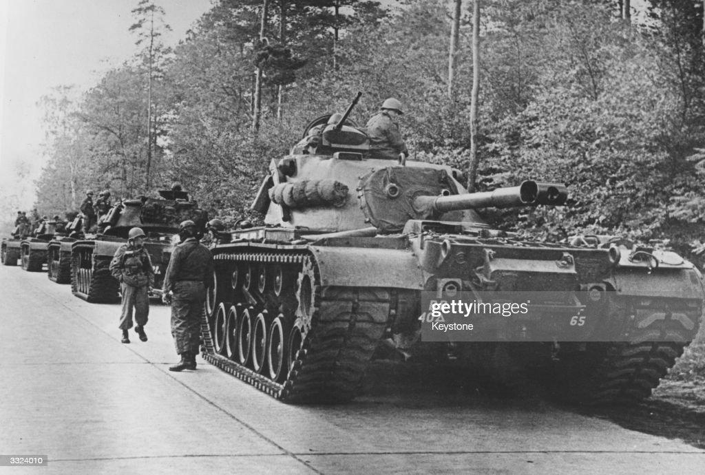 US Tanks : Nieuwsfoto's
