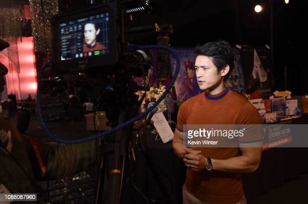 25th SAG Awards Ambassador Harry Shum Jr. Attends Cocktails with the SAG Awards: A Behind-the-Scenes Experience at The Shrine Auditorium on January...
