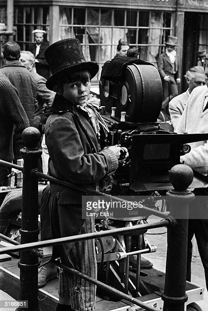 British child actor Jack Wild, who plays the Artful Dodger in Carol Reed's latest movie, the Lionel Bart musical 'Oliver!'