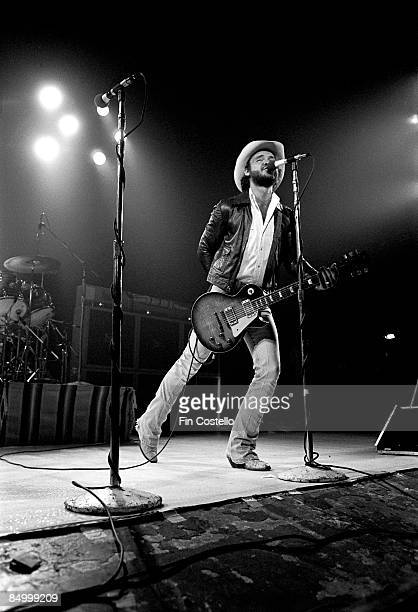 Billy Gibbons from ZZ Top performs live onstage in Waterbury Connecticut on the Texas World Tour on 25th September 1975
