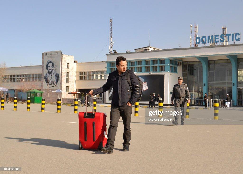 Deportation flight to Kabul, Afghanistan arrives : News Photo