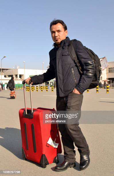 25yearold Naim Muradi from the North Afghan province of Baghlan leaves the airport in Kabul Afghanistan 23 February 2017 He was deported from Germany...